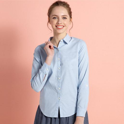 Women Oxford Slim Shirt