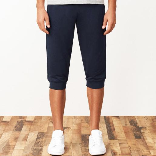 Men's French Terry Capri Pants