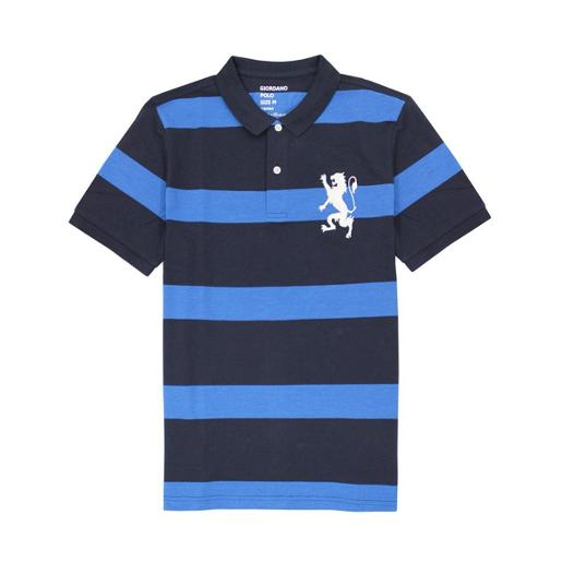Men's Cotton Stripe Polo