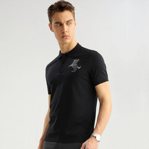 Men's Napoleon 3D Embroidery Polo M