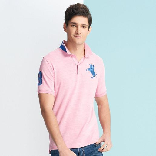 Men's Napoleon 3D Embroidery Polo S