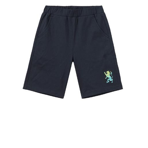 Junior Lion Embroidered Shorts