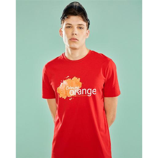 Color Me Letter Print Tee