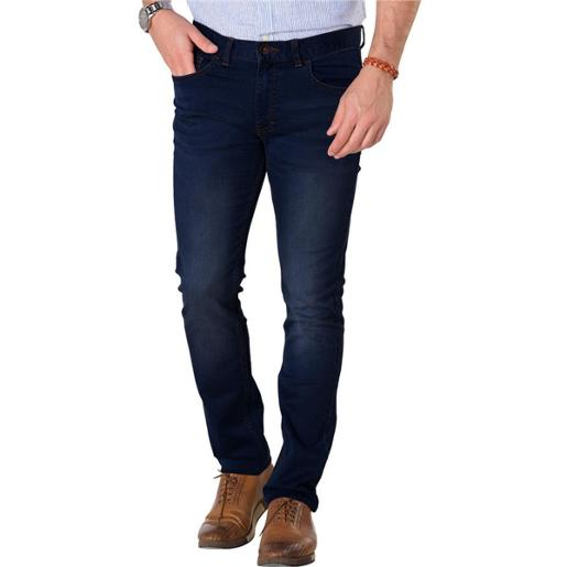 Men's Cotton Denim Tapered Jeans