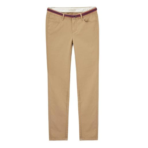 Women Basic Khaki Pants