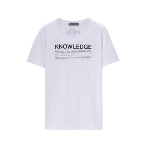 Men's Know The World Statement Print Tee