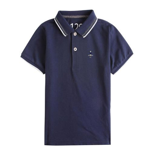 Junior Classic Man Embroidery Polo