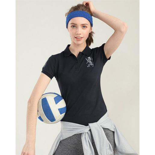 Women 3D Lion Polo