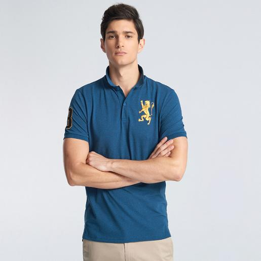 Men's 3D Lion Polo