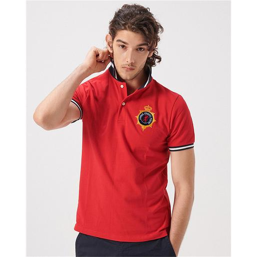 Men's Union Jack Embroidery Polo