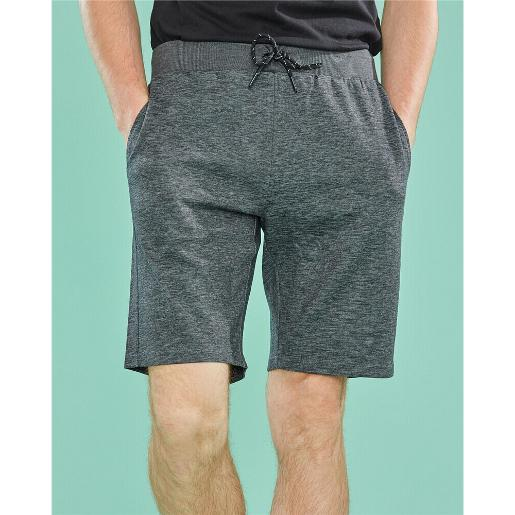 Men's Solid Double Knit Shorts