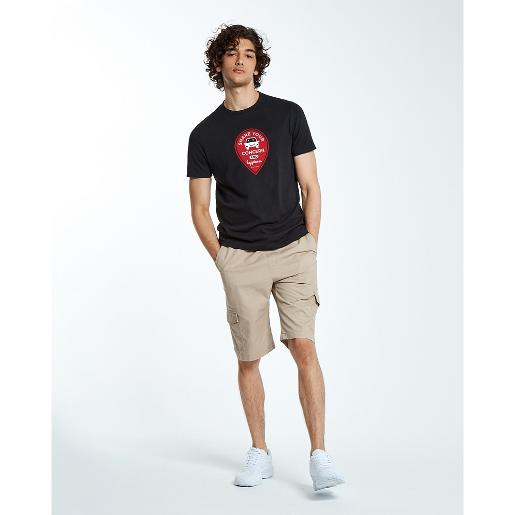 Men's Happiness Sharing Smile Print Tee