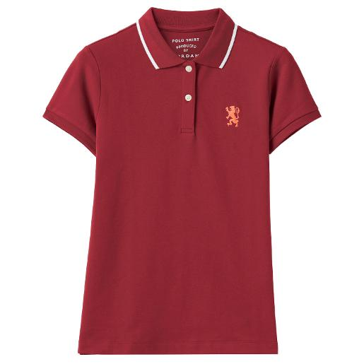 Women's Embroidery Lion Polo