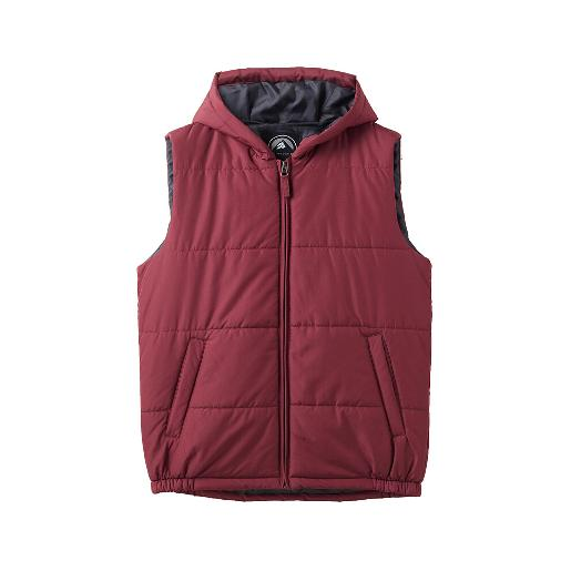 Men's Hooded quilted vest