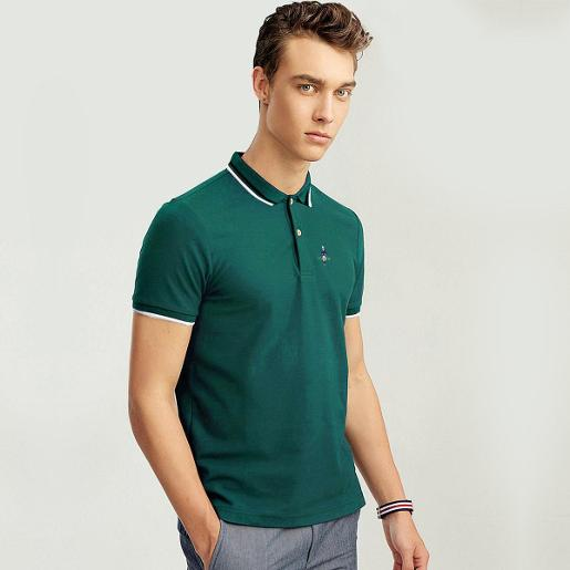 Men's Classic Man Embroidery Polo