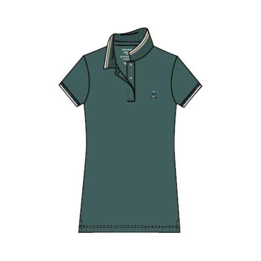 Women Classic Man Embroidery Polo