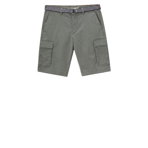 Camouflage casual shorts(with belt)