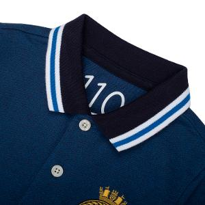 Junior Embroidery Short Sleeve Polo
