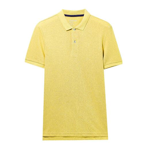 Men's Solid CVC  Polo