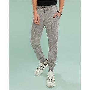 Men's Drawstring knit joggers